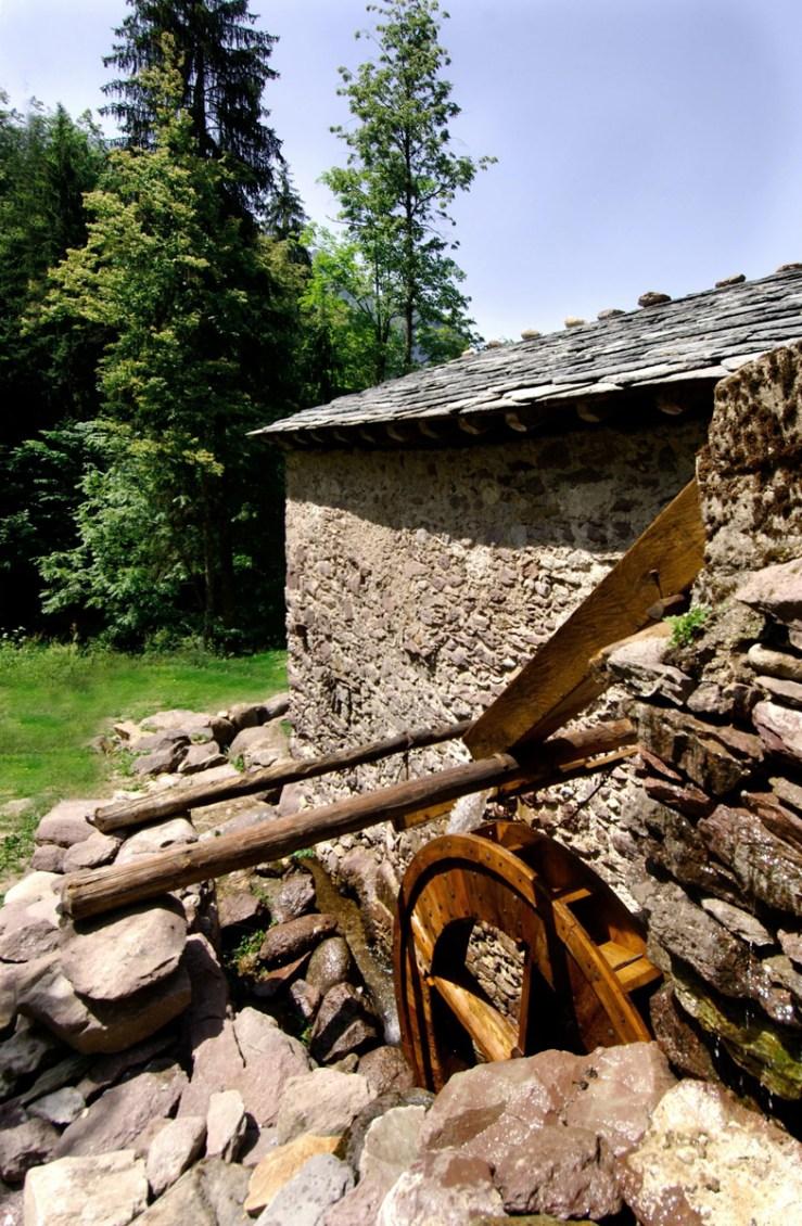 Restauro del mulino di Baresi ad opera dell'Arch. Paolo Angelini, vincitore Premio Domus