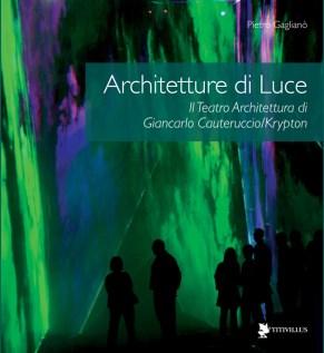 Pietro Gaglianò, Architetture di Luce, immagine di copertina