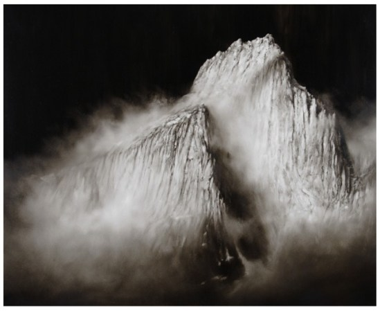 Ettore Frani, 'Fortezza', olio su tavola, cm.100x120