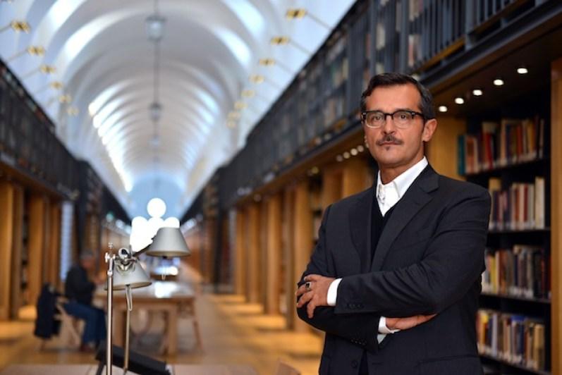 Luca Massimo Barbero, ritratto, foto Andrea Pattaro
