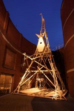 33° esemplare della serie Sleipnir. Triennale di Milano 2014. Un'installazione di 15 m nella sezione del TDM7 dedicata a Duilio Forte   AtelierFORTE