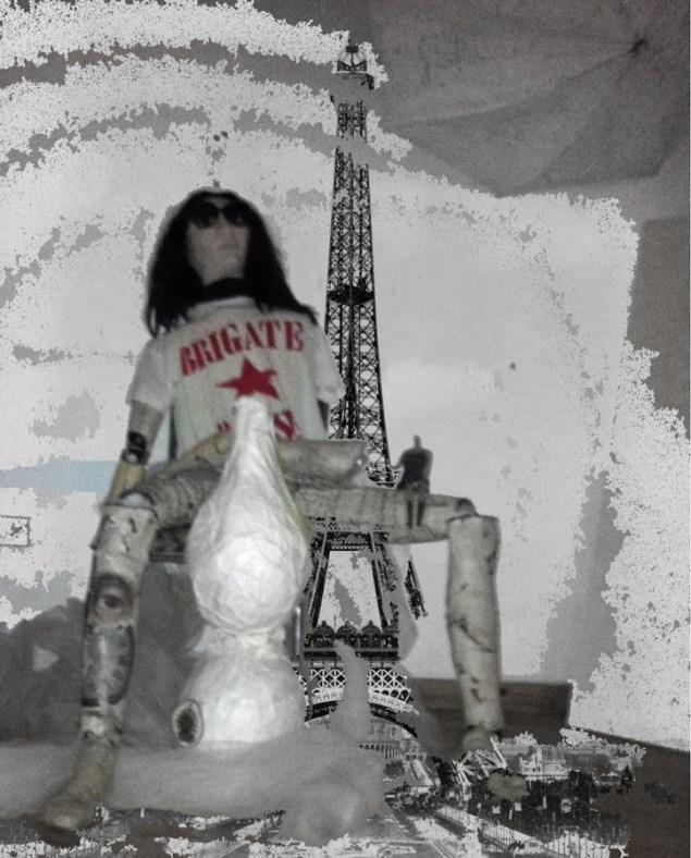 Federica Falancia e Rita Deiola, Fefa Ride (ItalianMerzBau/Spostare il silenzio), Palais de Tokyo, Parigi