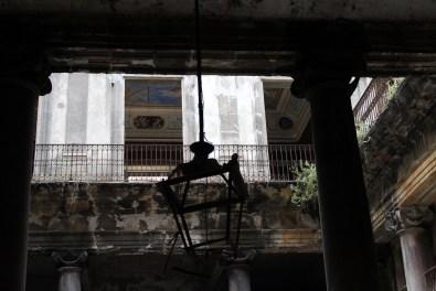 Palazzo Costantino, la corte