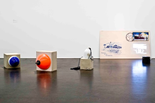 Sonia Leimern, Neues Land: New Land: Nowaja Semlja + Ohne Titel (Versenkbares Objekt), 2014