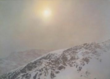 Gerhard Richter, Davos, 1981 Oil on canvas, 50 cm x 70 cm Stefan T. Edlis Collection © 2014 Gerhard Richter