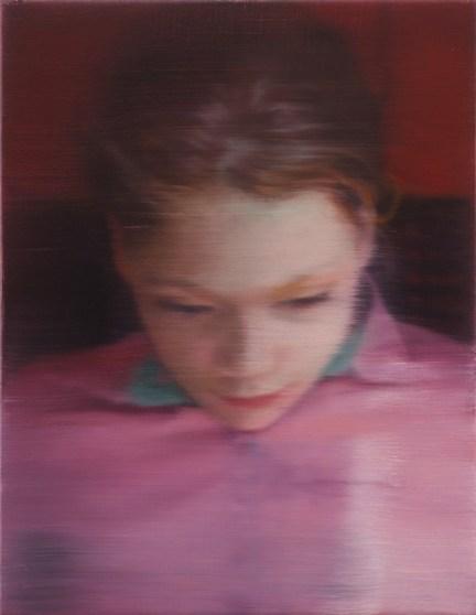 Gerhard Richter, Ella, 2007 Oil on canvas, 40 cm x 31 cm Private collection © 2014 Gerhard Richter