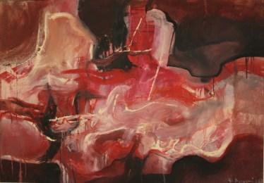 Rezarte, Angela Bergomi, Senza titolo,1961, olio su tela, cm. 85x120