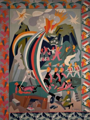 Fortunato Depero, Guerra-Festa, 1925 Galleria Nazionale díArte Moderna, Roma