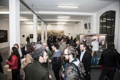 Opening JUXTAPOZ ITALIANO Four Artists who Defy Convention, Galleria Giovanni Bonelli, Milano
