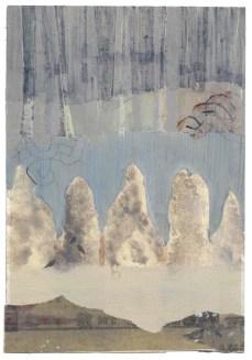 Elisa Bertaglia, Bluebird #2, 24x16,5 cm, olio, carboncino e grafite su carta, 2014