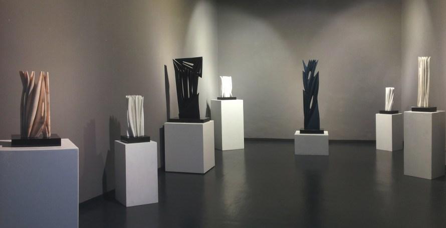 Pablo Atchugarry. Il divenire della forma, veduta della mostra, Costantini Art Gallery, Milano