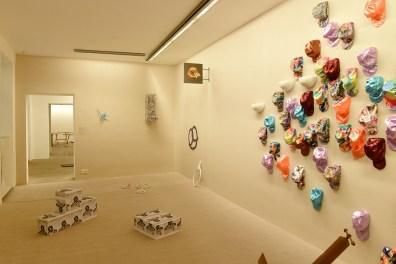 Lorraine Châteaux, Installation The Cloud, 2014. Foto Andreas Marini
