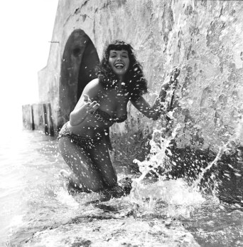 © Bill Hamilton, Bettie Page, Courtesy of Michael Fornitz Collection