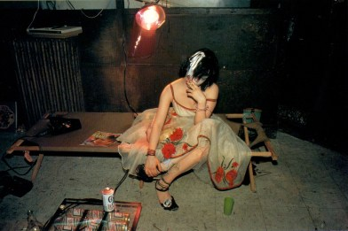 Nan Goldin, Trixie on the cot, New York City 1979 © Nan Goldin Courtesy the artist and Guido Costa Projects, Torino