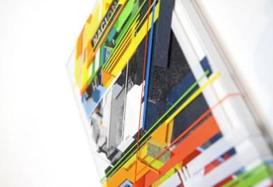 No Curves, Ayrton, dettaglio opera dedicata al grande pilota brasiliano Ayrton Senna Credits Andrea Ucchino – Grauen Studio