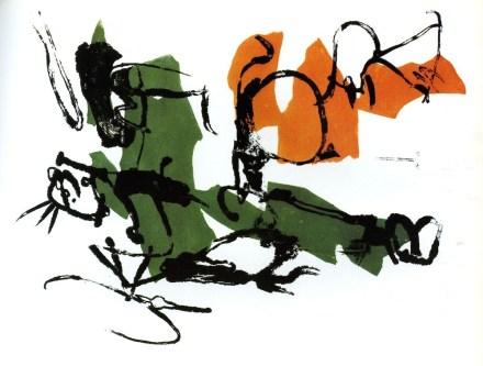 Afro, Sosta a Corinto, 1960, studio per spilla,