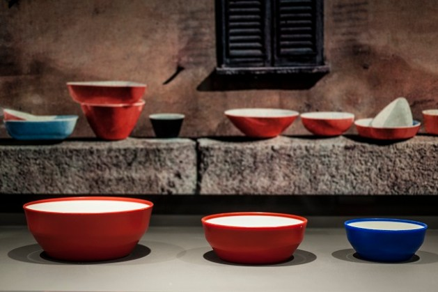 Ciotole bicolore KS 8195-8198 Gino Colombini, 1963-1975 Foto © Eleonora Roaro