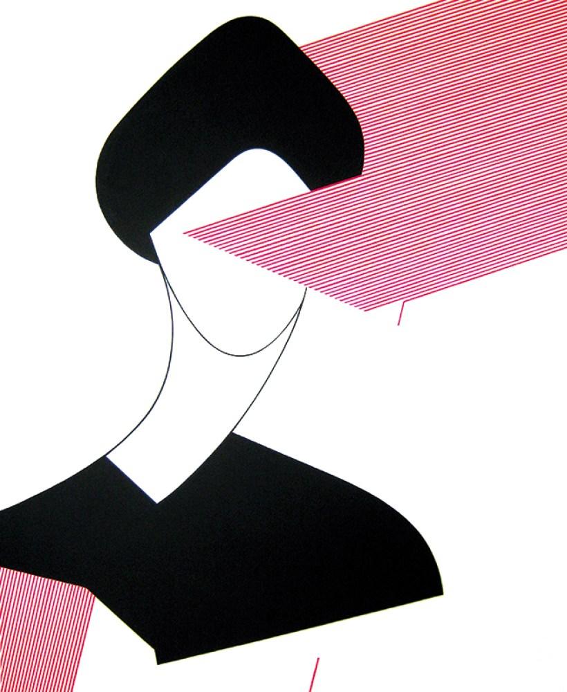 Ester Grossi, Flash, 2015, acrilico e gesso su tela, 120 x 100