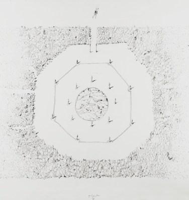 Ugo La Pietra, Verde Numero Tre, Il Giardino Delle Delizie, 1985, Courtesy l'Artista e Galleria Bianconi
