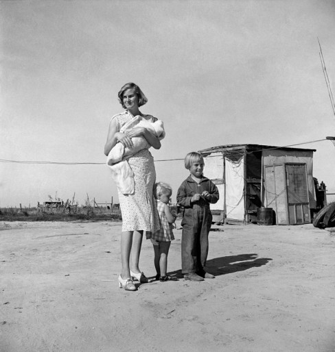 Dorothea Lange, Family of Rural Rehabilitation Client, Tulare County, California, 1938