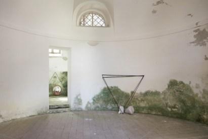 In principio è la Terra, veduta della mostra (Mariella Ghirardani), Forte di Gavi, Gavi (AL) Foto di Enrico Minasso