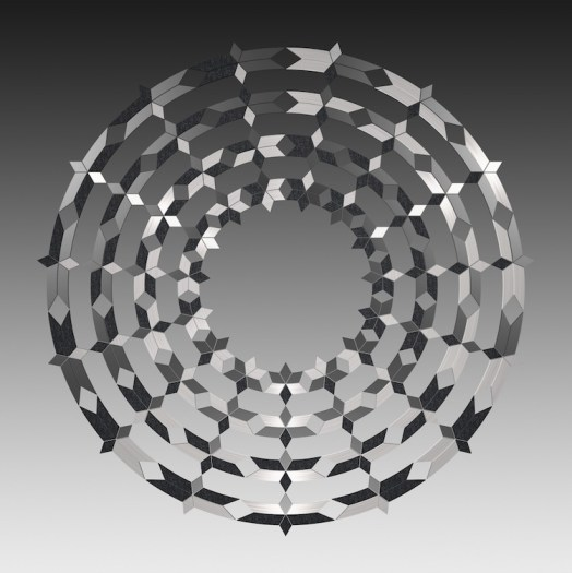 Jens W. Beyrich, Star Mandala, 2014, C-print, 180x180 cm