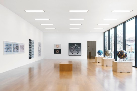 Jens W. Beyrich. Hypersymmetrics, veduta della mostra, Kunstmuseum Liechtenstein, Vaduz (Liechtenstein) Foto Stefan Altenburger Photography © Kunstmuseum Liechtenstein