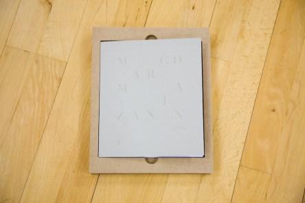 Marco Maria Zanin. Dio è nei frammenti, 2017, libro d'artista, 400 copie numerate