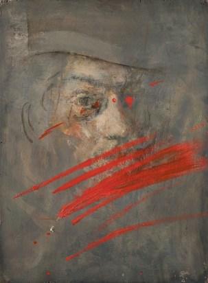 Giancarlo Vitali, Pausa, 1951-2001, olio su tavola, 39.5x29.5 cm