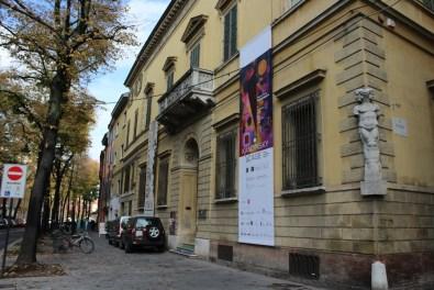 Veduta di Palazzo Magnani, Reggio Emilia (Foto scattata dagli alunni del Liceo Chierici di Reggio Emilia nell'ambito del progetto di alternanza scuola/lavoro)