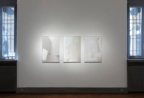 Luca Gilli. Di/Stanze, veduta della mostra, Museo Diocesano Carlo Maria Martini, Milano