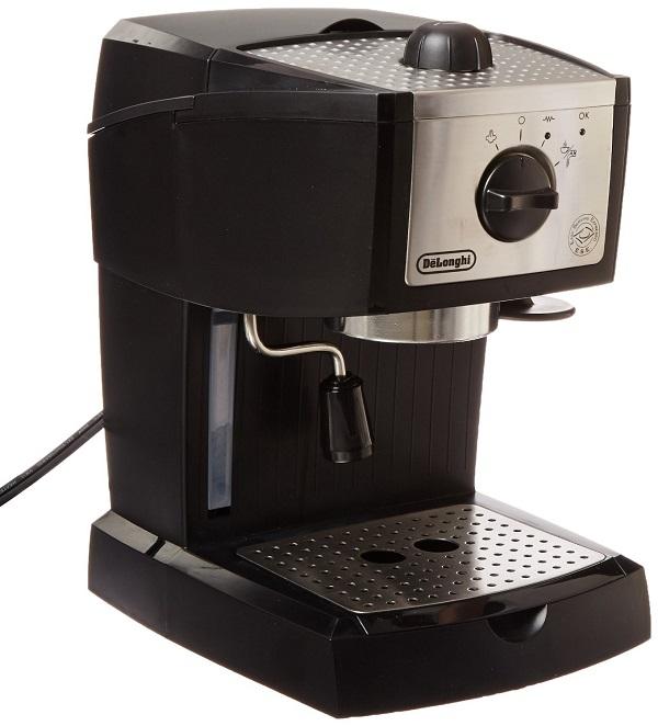 Best espresso machine-De'longhi ec155 15 bar pump espresso and cappuccino maker Review