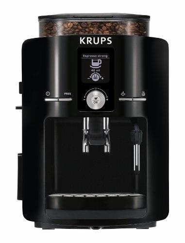 Best espresso machine-KRUPS EA8250 Espresseria Fully Automatic Espresso Machine Review