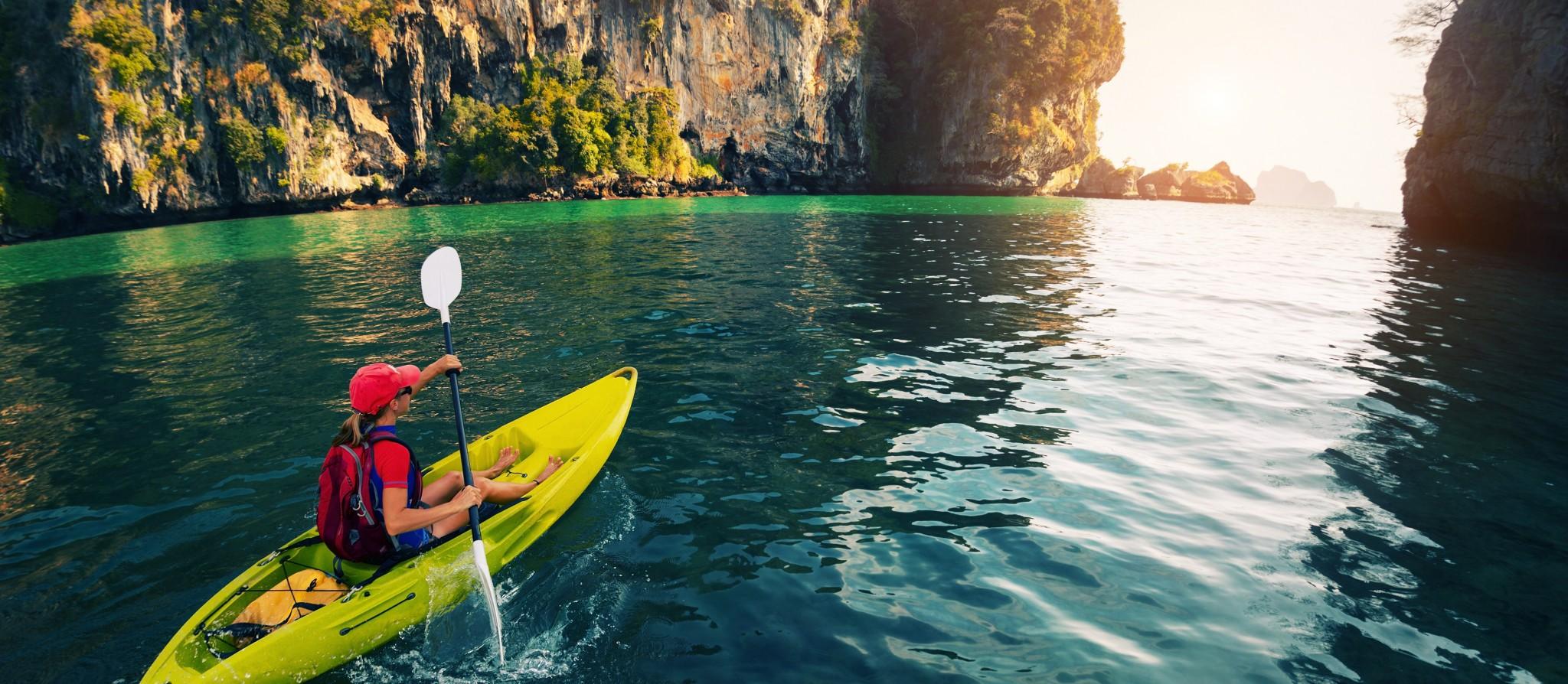 kayak deporte aventura