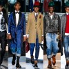 Dsquared2 Fall 2013 Menswear pitti uomo milan runway male models african black hats robe