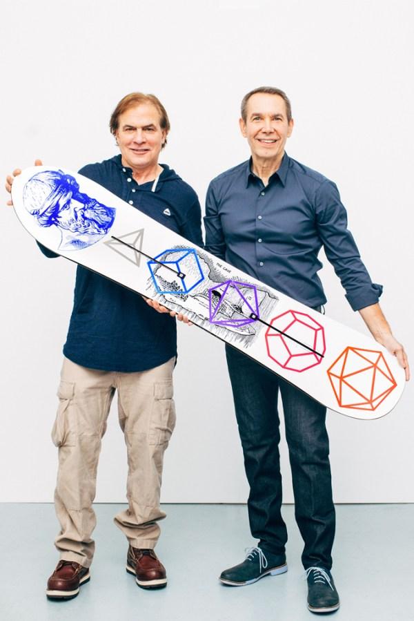 Jake Burton x Jeff Koons