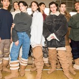 Y/Project Collab With UGG for Paris Runway Show