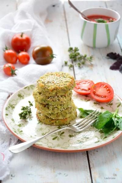 Crocchette di quinoa e zucchine