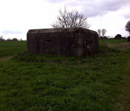 Second World War Pill-boxes by the River Chelmer in Great Dunmow, Great Dunmow 2012