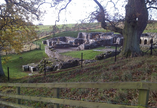 Chesters Roman Fort - Bath house