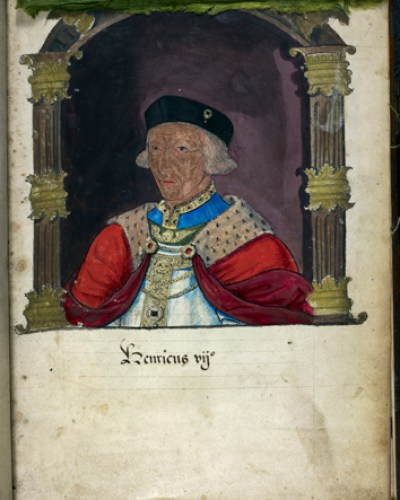 Egerton 2572 f.7 Henry VII