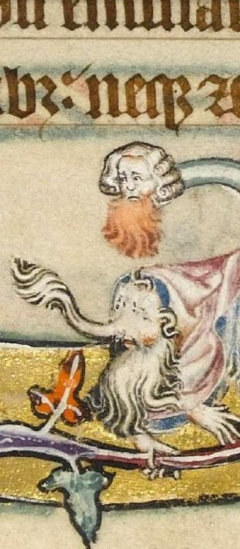 Macclesfield Psalter - folio 53r