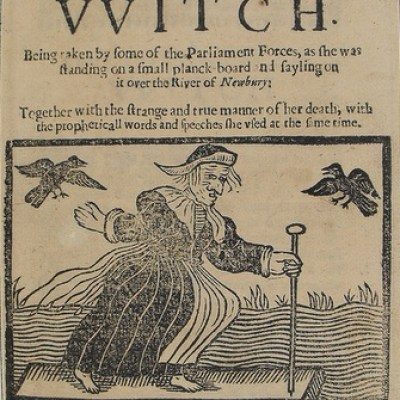 1643 A most certain strange and true discovery of a witch