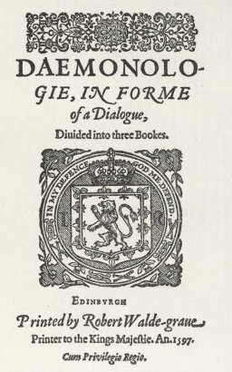 James VI Daemonologie