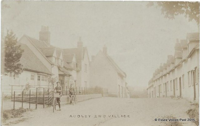 Audley End Village in the early 1900s