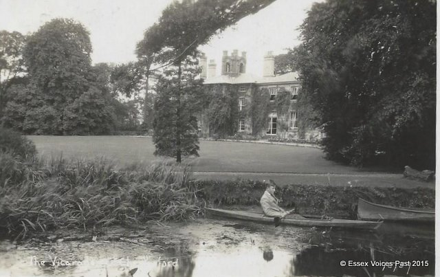 The Vicarage in the 1920s, Great Chesterford