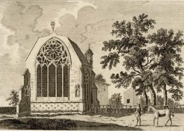 Tilty Abbey in 1784