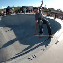 Pierrick Beil FS 5-0 grab Bowl Attack 2014