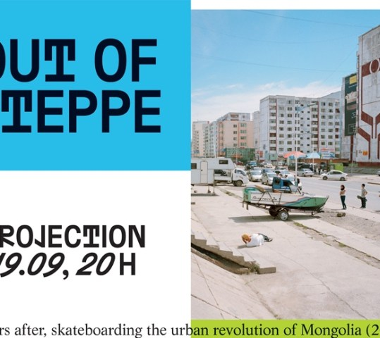 Projection « OUT OF STEPPE »