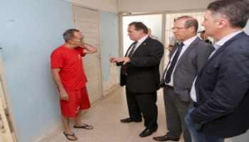 Juízes inspecionam local de prisão de promotor condenado a 76 anos